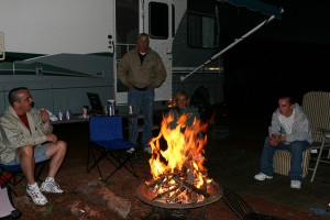 Awesome camping activities.