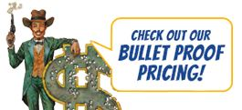 bullet proof pricing