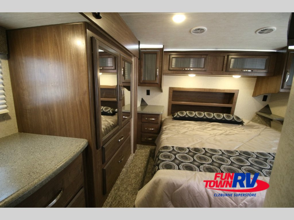 Two hot new cruiser boss toy hauler fifth wheels for Rv with 2 master bedrooms
