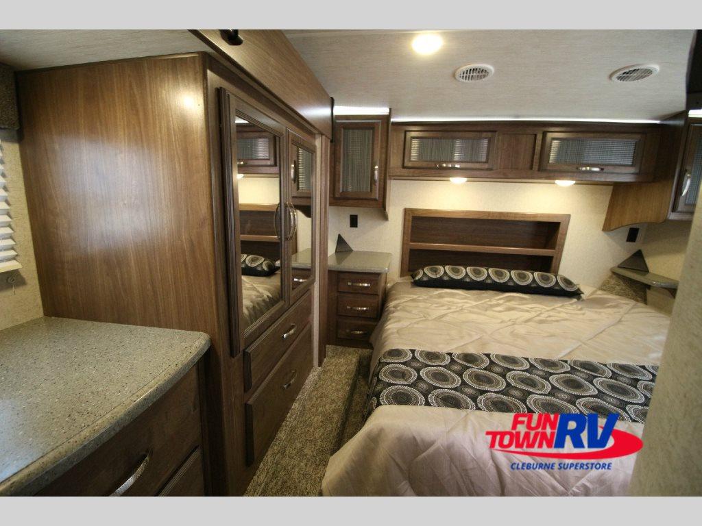 2017 Cruiser Boss Toy Hauler Fifth Wheel Master Bedroom