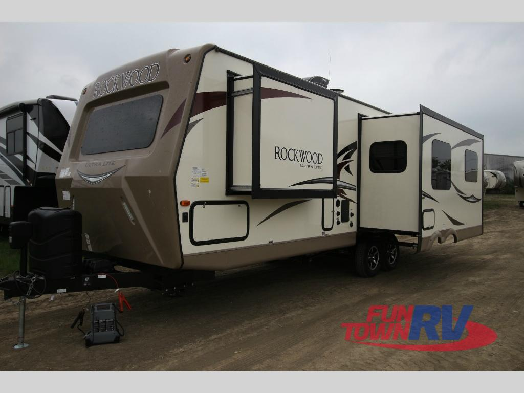 forest river rockwood ultra lite travel trailer