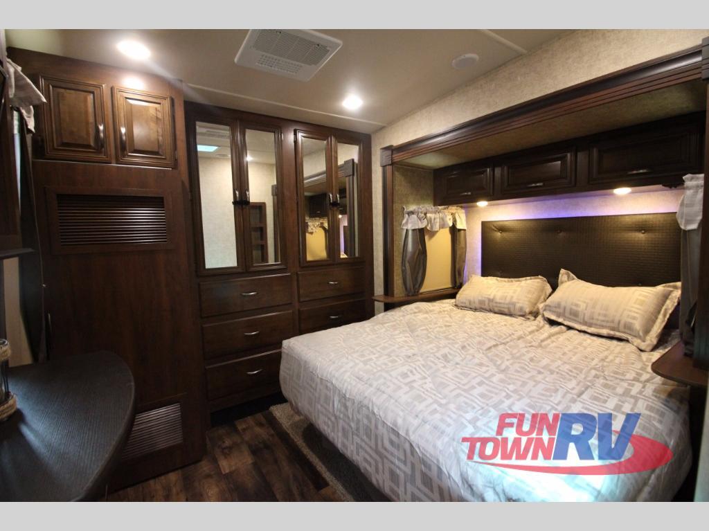 Forest River Sandpiper 377FLIK Fifth Wheel Bedroom