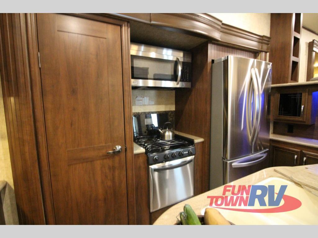 Forest River Sandpiper 377FLIK Fifth Wheel Kitchen