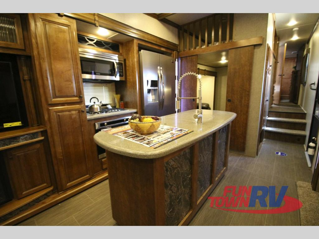Heartland Big Country Fifth Wheel Kitchen