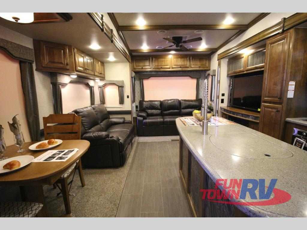 Heartland Big Country Fifth Wheel Rear Living