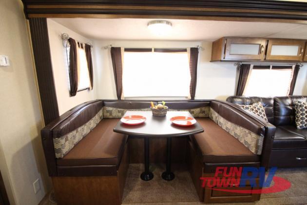 Forest River Wildwood 28DBUD Bunkhouse Travel Trailer U-Shaped Dinette