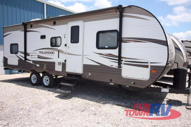 Forest River Wildwood 28DBUD Bunkhouse Travel Trailer