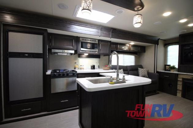 Dutchmen Kodiak Ultimate Travel Trailer Kitchen