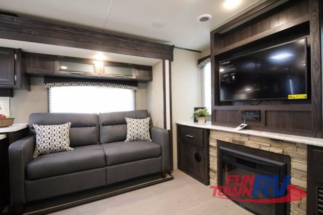 Dutchmen Kodiak Ultimate Travel Trailer Living Area