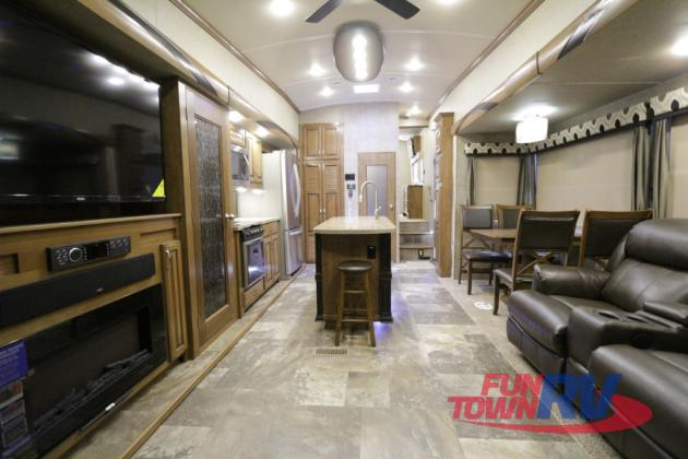 Forest River Cedar Creek Hathaway Edition Fifth Wheel Interior