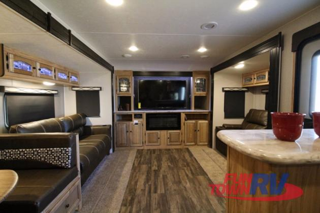 Coachmen Freedom Express Liberty Edition Travel Trailer Front Living
