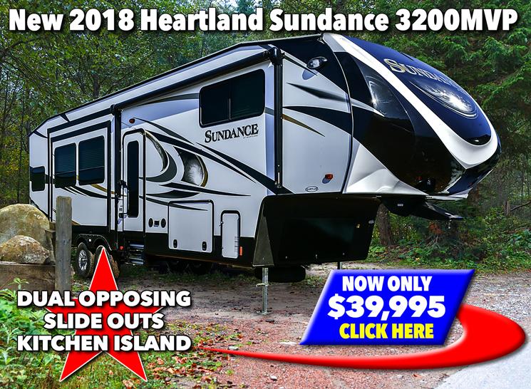 Heartland Sundance 3200MVP Fifth Wheel