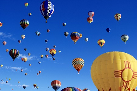 RV Road Trip Albuquerque Balloon Fiesta