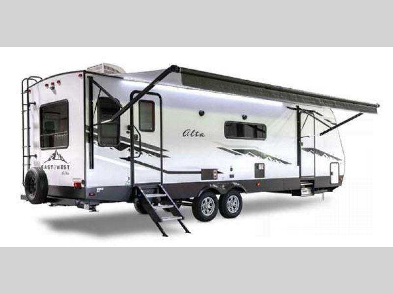 east to west Alta travel trailer